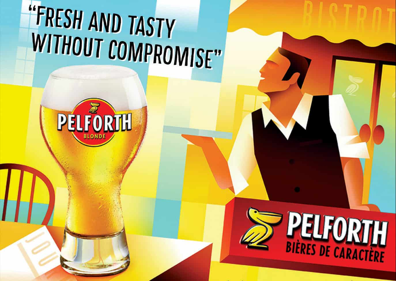 Pelforth-Retro-Ad Euro 2020 - the best beers from all 24 competing countries