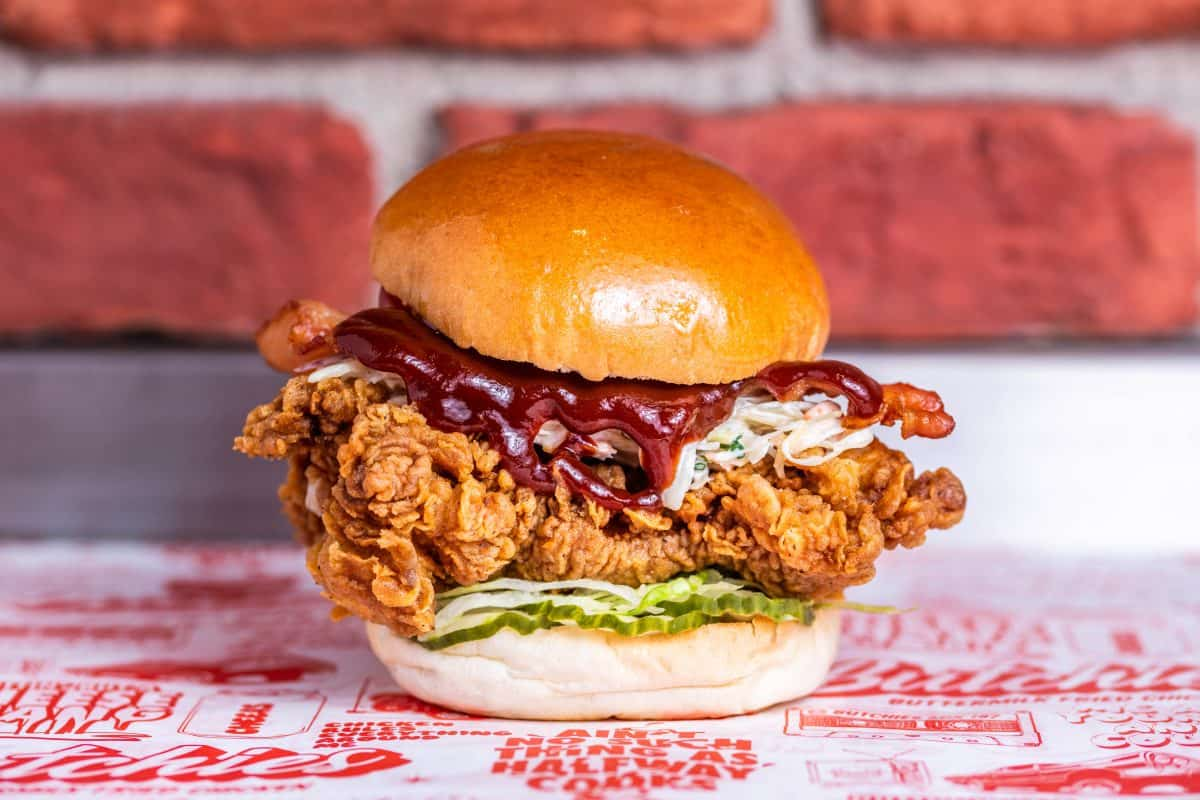 Butchies London's best new restaurant openings London Food and Drink Photography - Butchies Buttermilk Fried Chicken Deliveroo Shoreditch Clapham Battersea - Nic Crilly-Hargrave-479