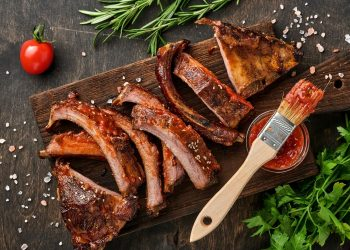Sticky Mutton Beer Ribs