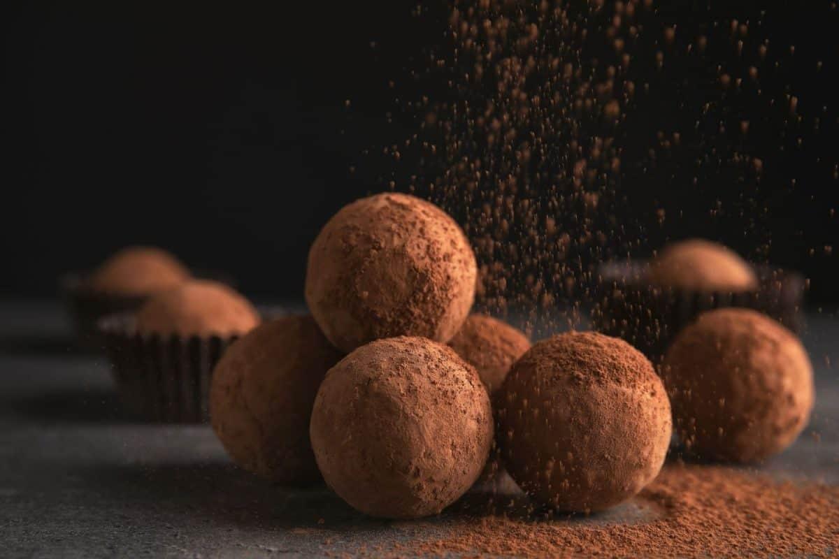 Overly Indulgent Whiskey Chocolate Balls