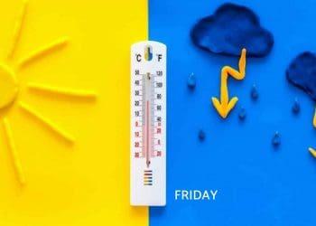 UK Weather Forecast for Friday
