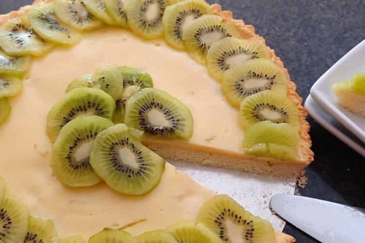 Sweet Lime and Kiwi Pie