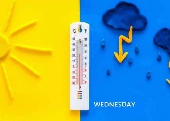 UK Weather Forecast for Wednesday