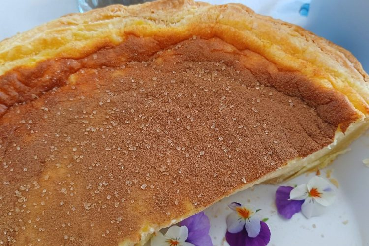 A traditional South African Milk Tart