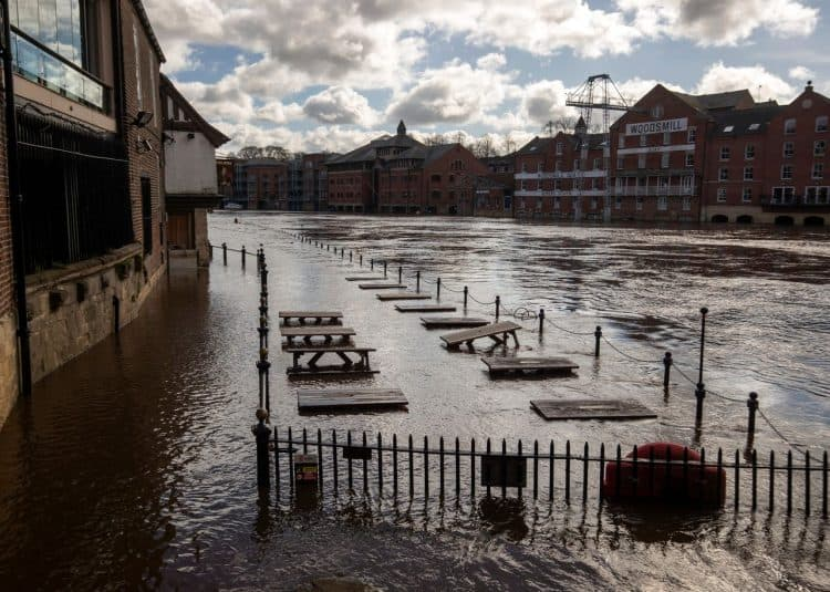 Recent flooding in York Credit;PA