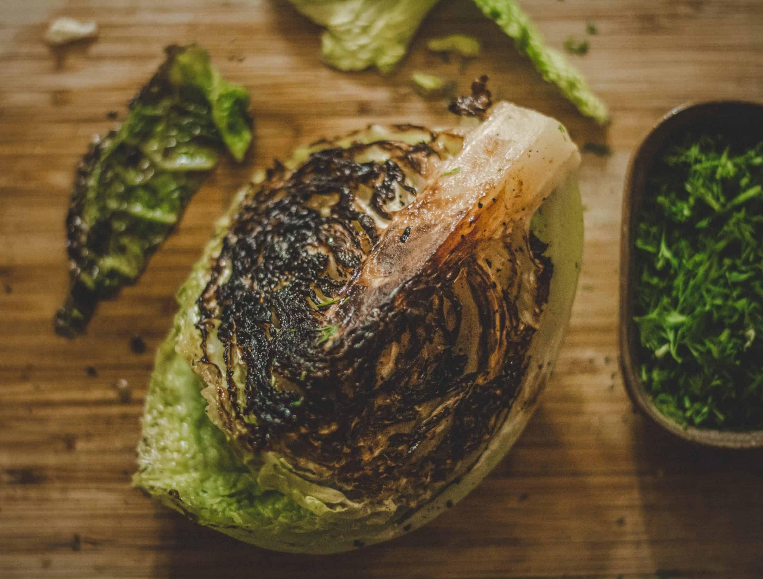 BBQ Hispi Cabbage recipe Photo by Rachel Clark Unsplash