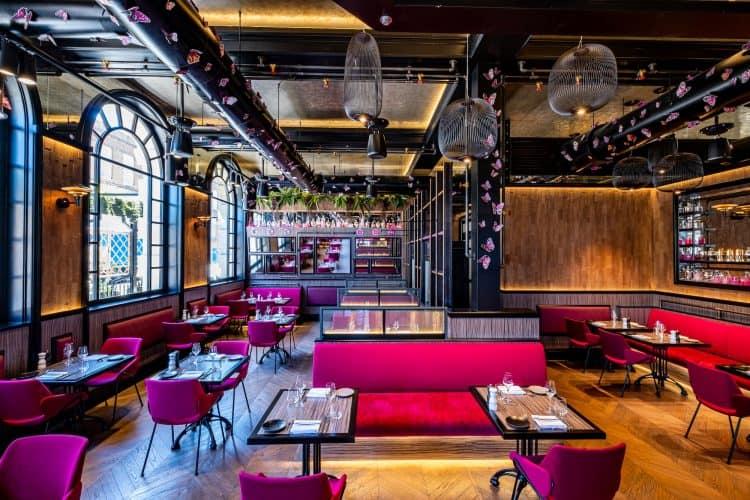 Magenta restaurant review interior