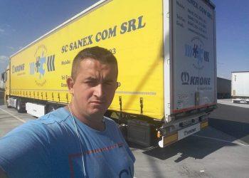 Lorry driver Viorel Alexandru Onu