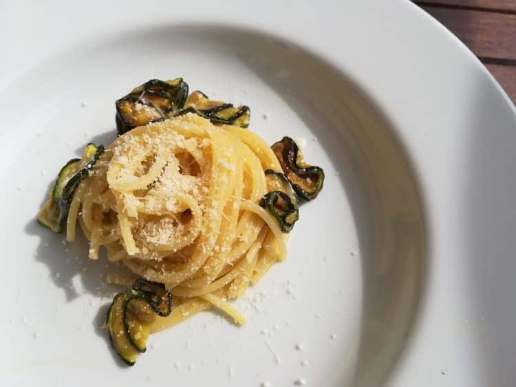 Spaghetti alla Nerano recipe Courgette Pasta recipe