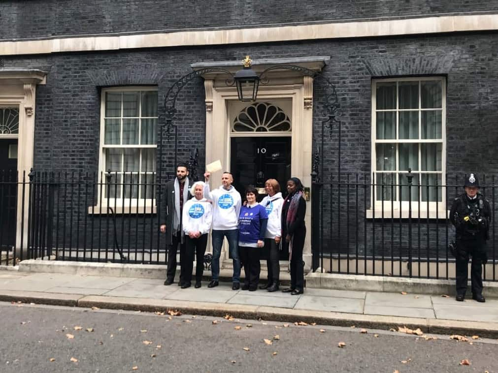 British in Europe and the3million at a 10 Downing St mass lobby