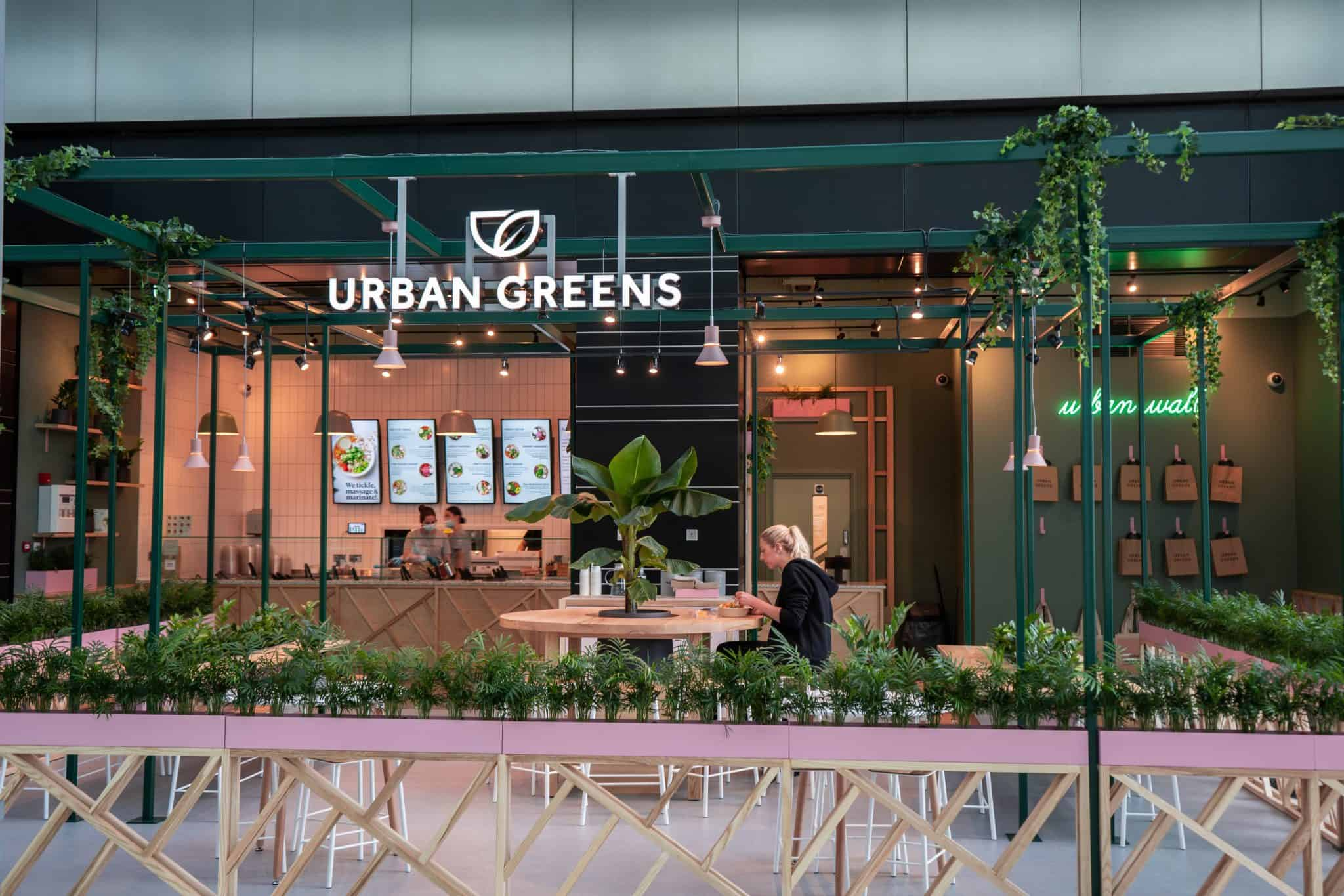 Urban Greens Canary Wharf