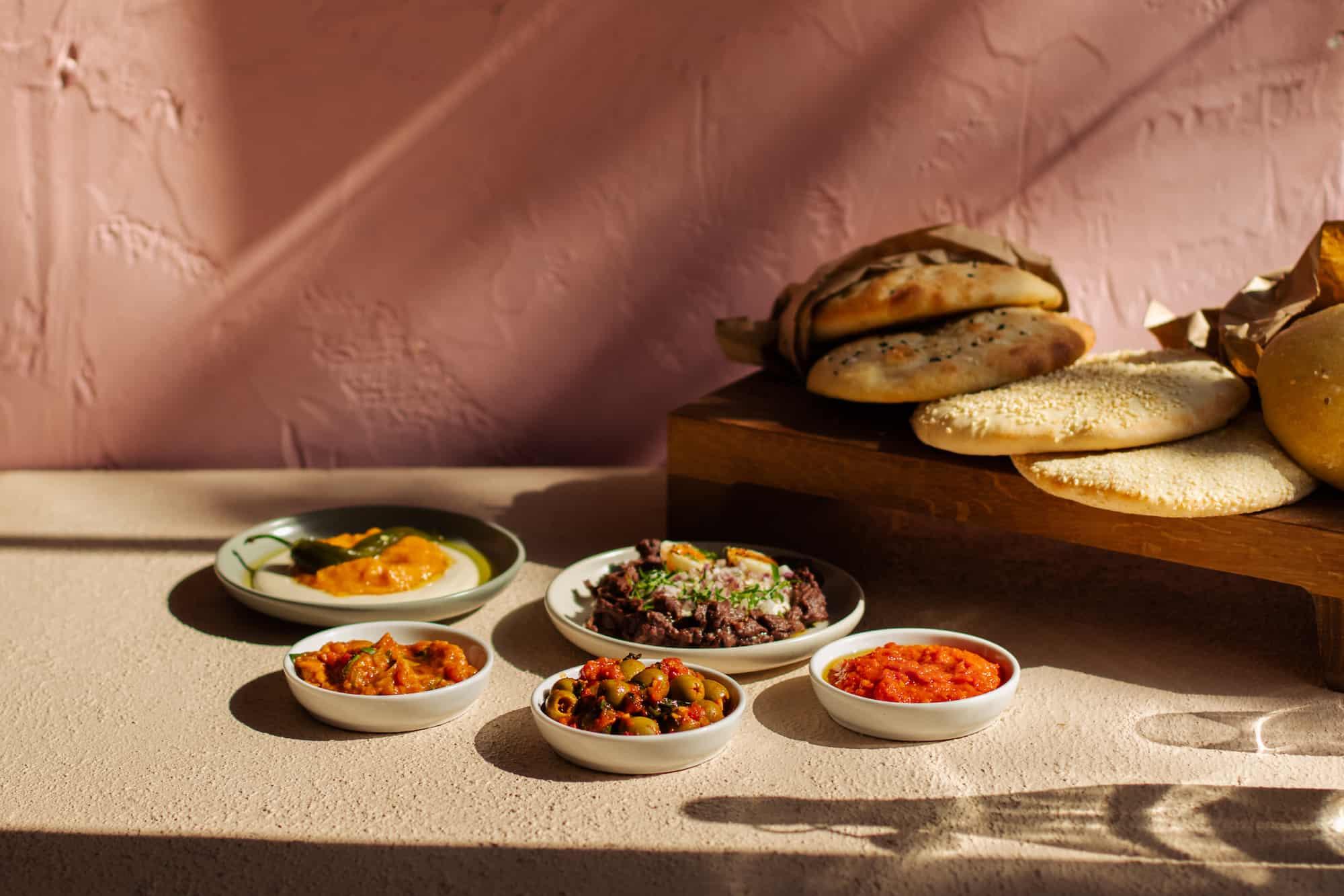 Barbary Bread+Dips_GeorgiaRudd New restaurant openings October 2021