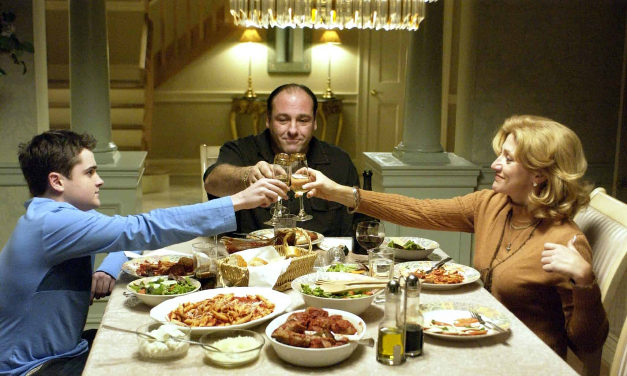 'The Sopranos' food TV Series