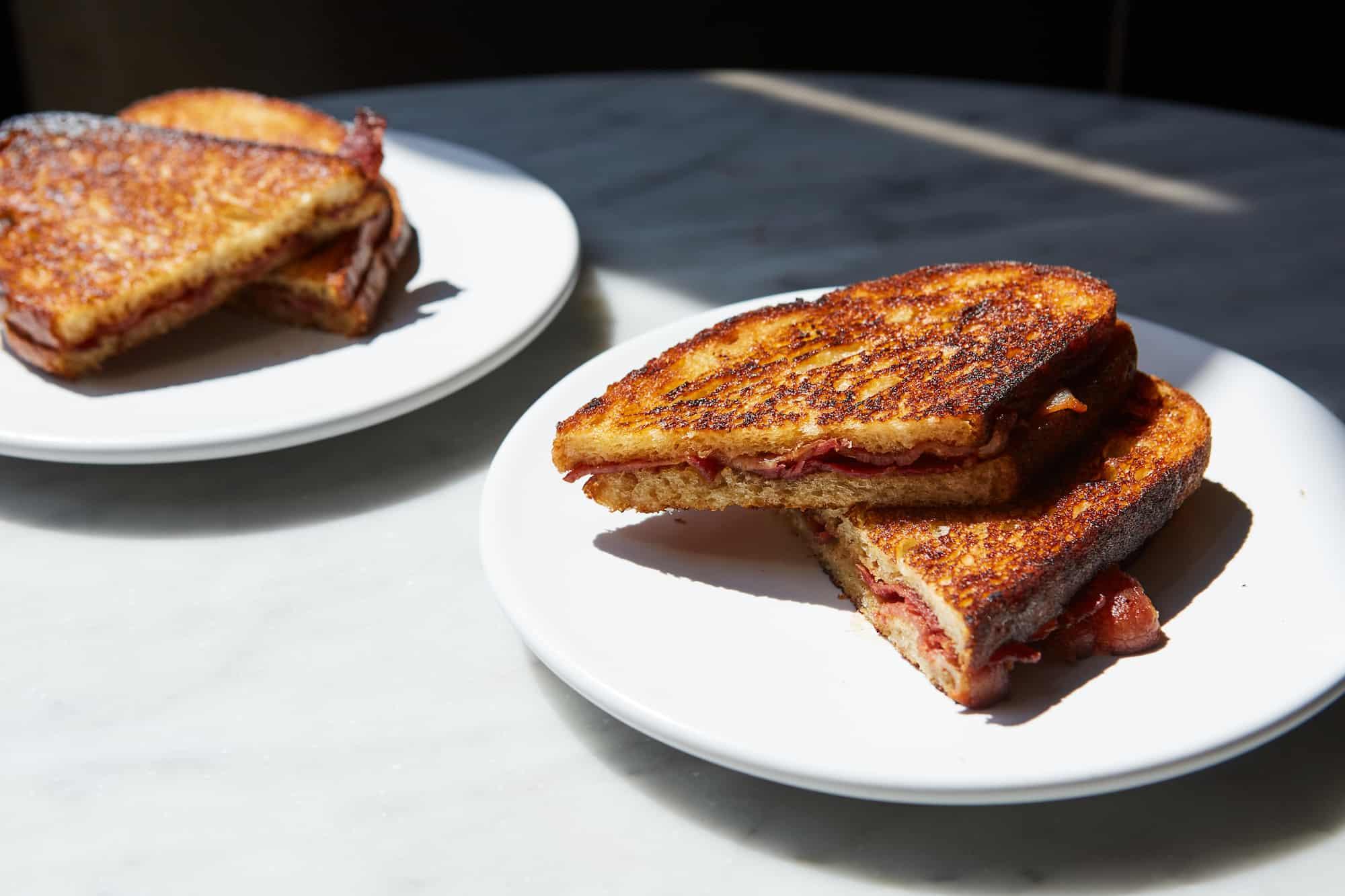 Dishpatch x Oklava_smoked bacon sandwich