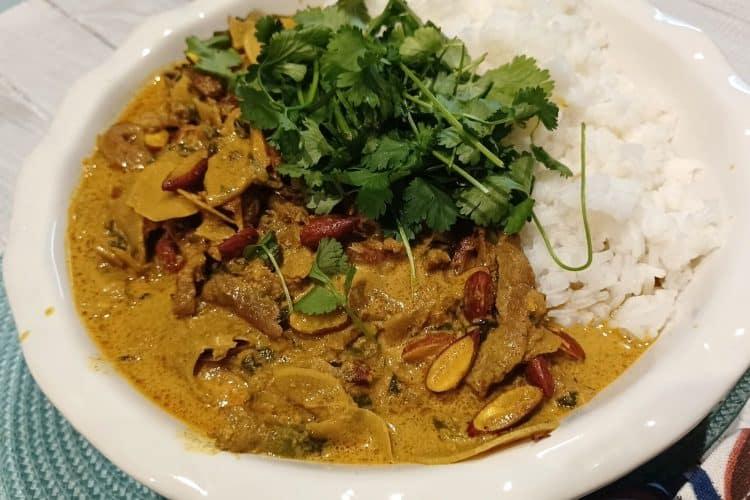 Creamy Beef Korma Curry