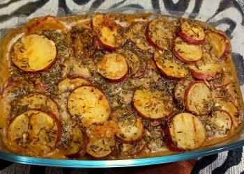 French Roasted Sweet Potato Bake