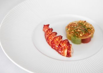 Ormer Mayfair by Sofian Poached lobster