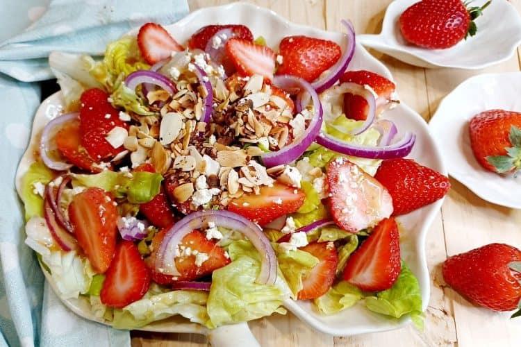 Scrumptious Strawberry Salad