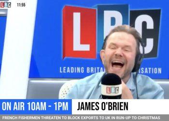 James O'Brien LBC