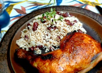 Caribbean Style Red Beans and Rice