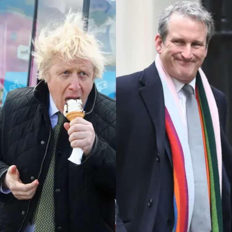 Boris Johnson Damian Hinds