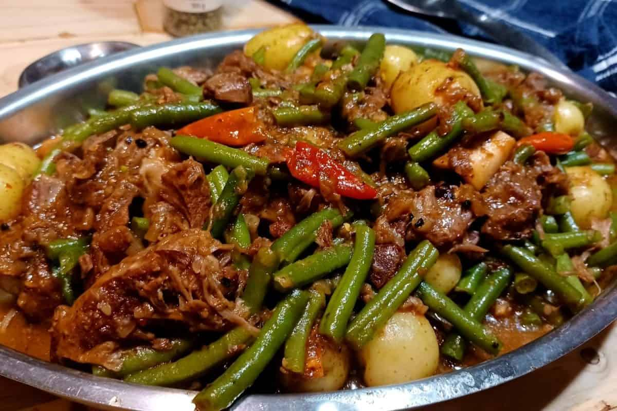 Lamb Green Bean Stew