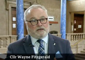 Councillor Wayne Fitzgerald, Tory leader of Peterborough City Council
