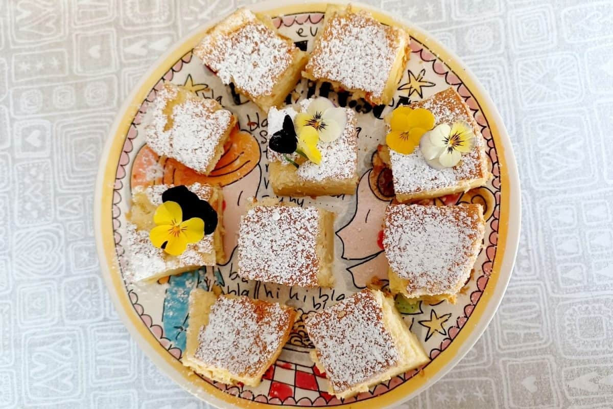 Vanilla Custard Triple Layered Cake