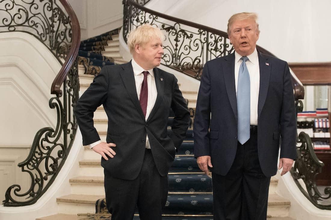 Donald Trump Boris Johnson
