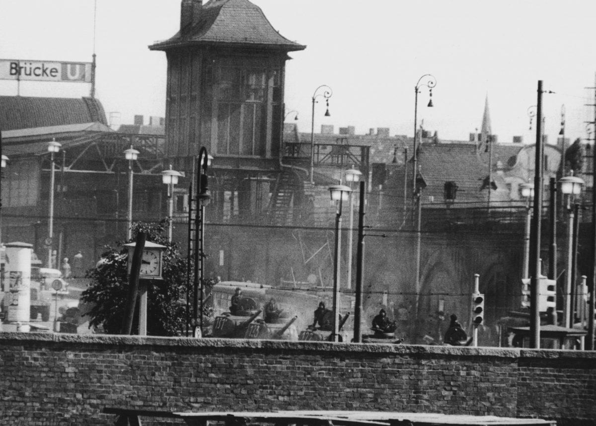 Berlin Wall Credit;PA
